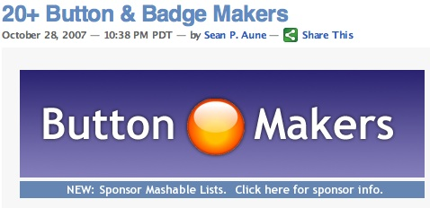 20+ Button & Badge Makers