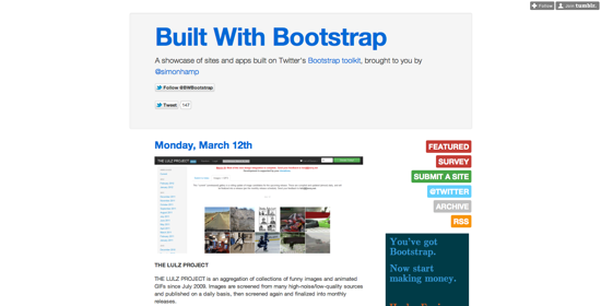 Builtwithbootstrap