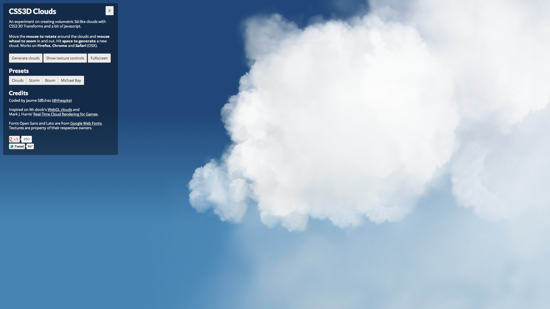 Css3dclouds