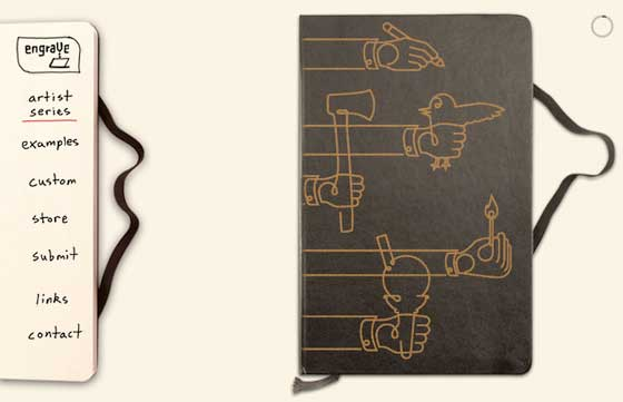Custom Laser Engraved Moleskine Notebooks