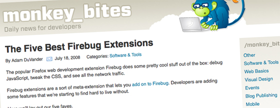 The Five Best Firebug Extensions