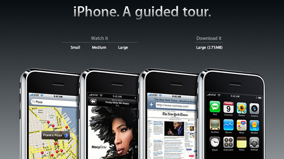 iPhone. A guided tour.