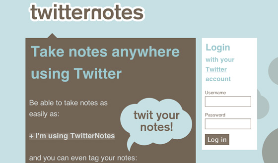 twitternotes