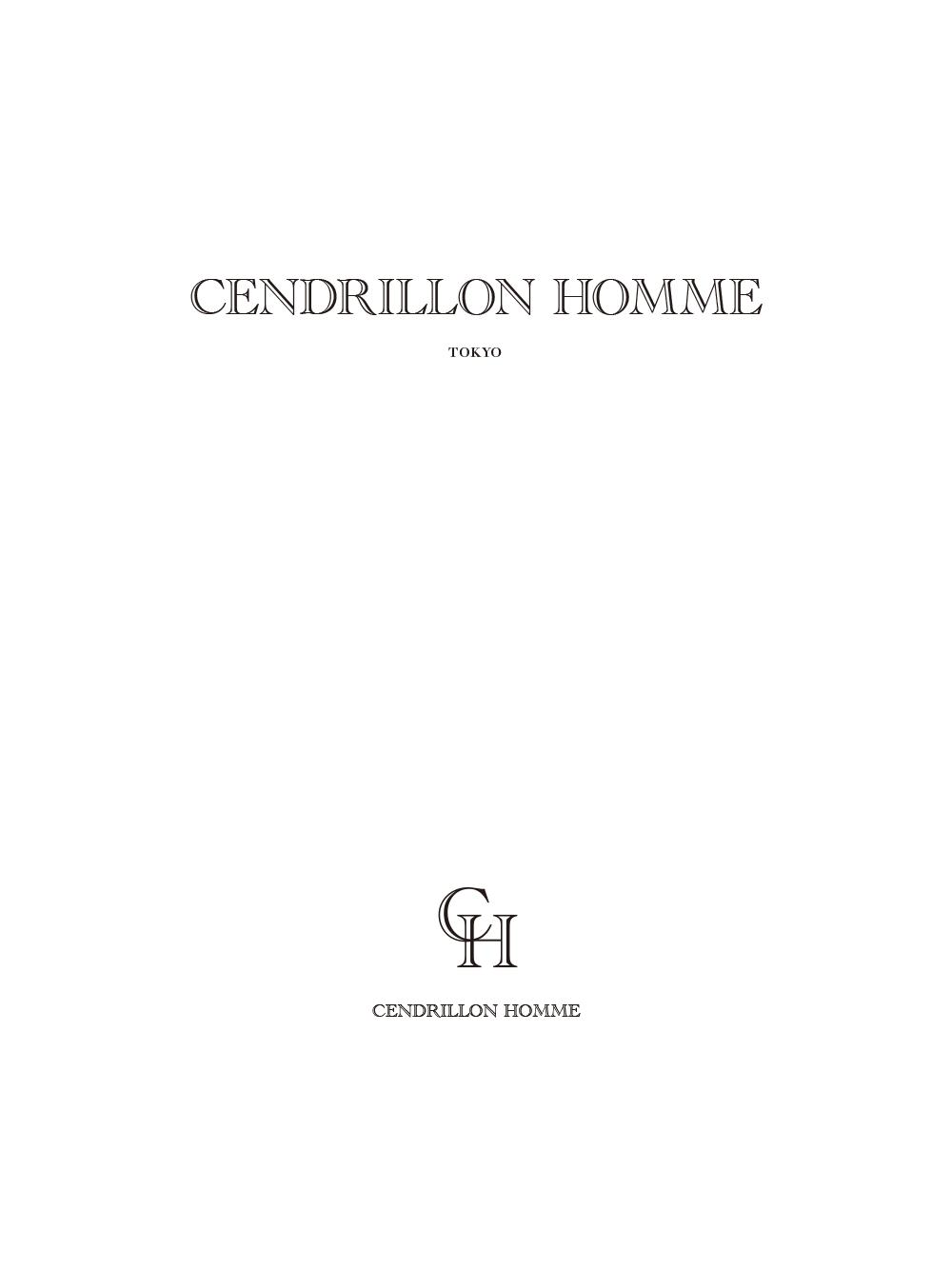 Cendrillon Homme