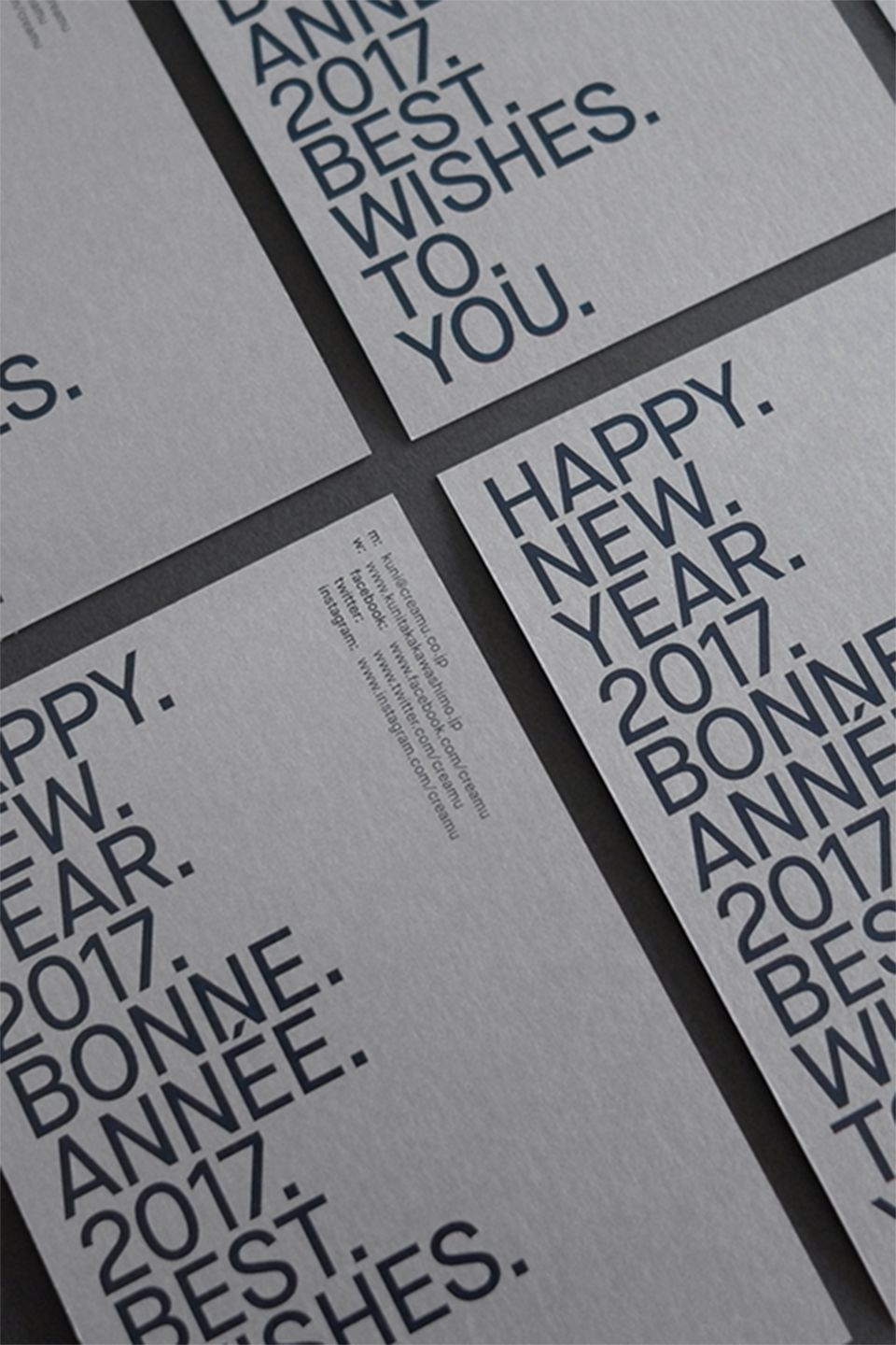 New Year's Card 2017