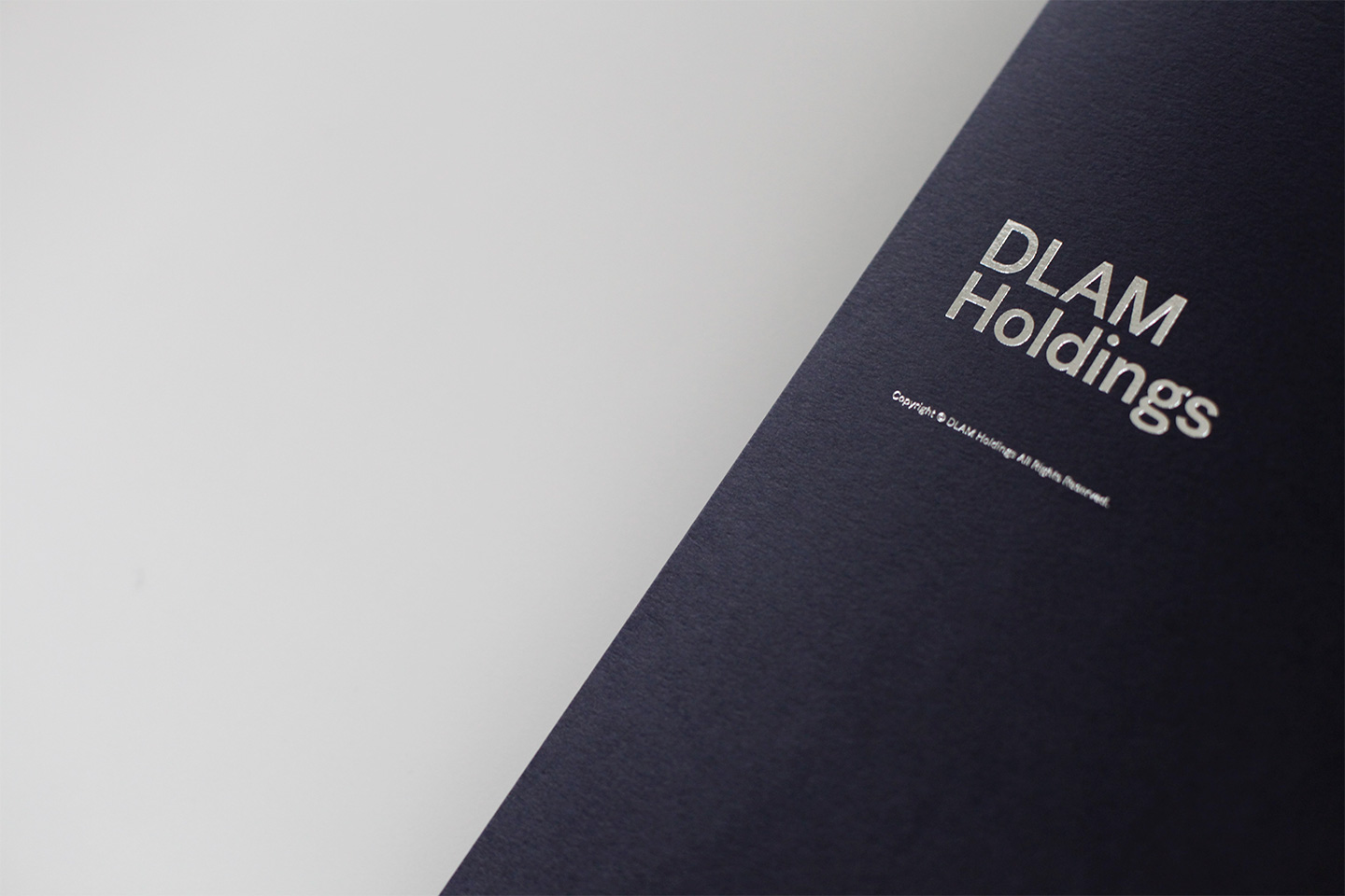 Pocket Folder Design for DLAM Holdings