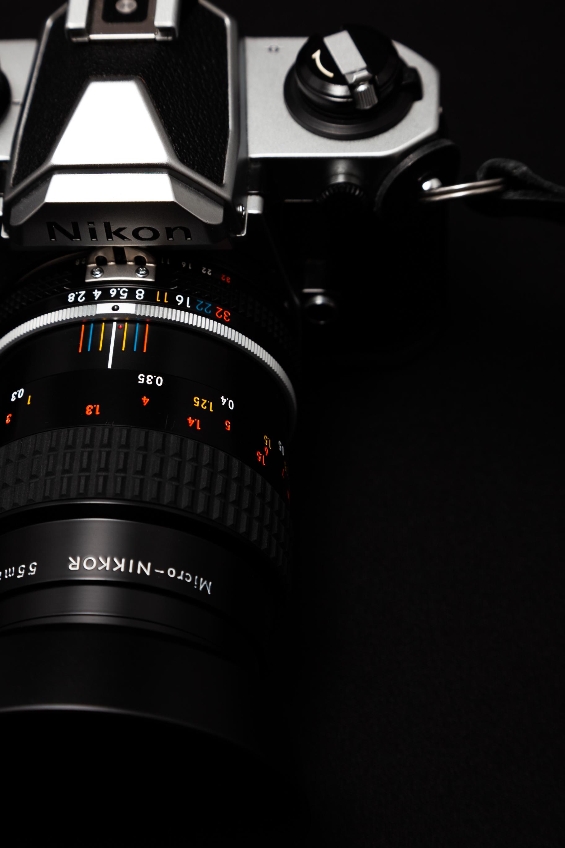 Nikon/ニコンのマクロレンズ 55mm F2.8